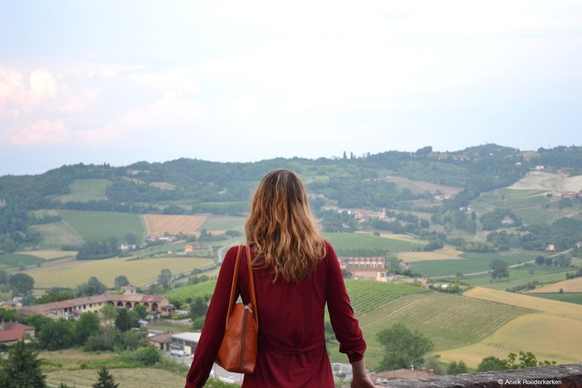 Eerst genieten van het uitzicht vanaf Moncalvo
