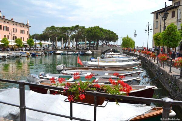 De haven van Desenzano del Garda