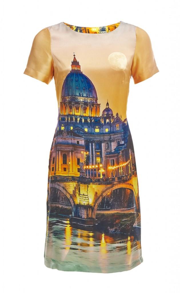 Laten we kijken naar de zonsondergang boven de kathedralen en wateren van Rome