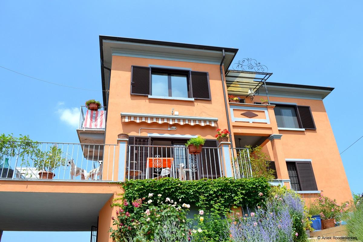 Villa i due padroni in de Oltrepo Pavese
