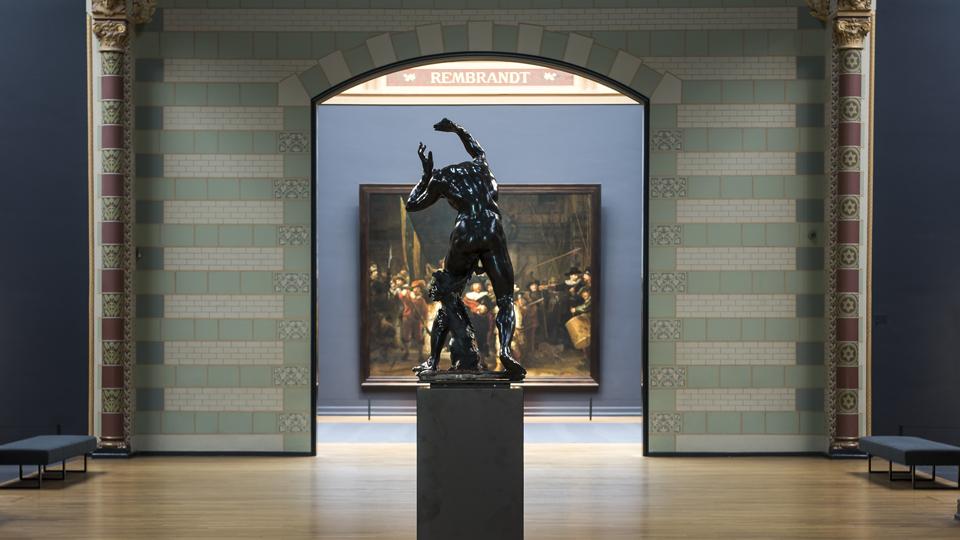 Bacchant, Adriaen de Vries, Eregalerij van het Rijksmuseum
