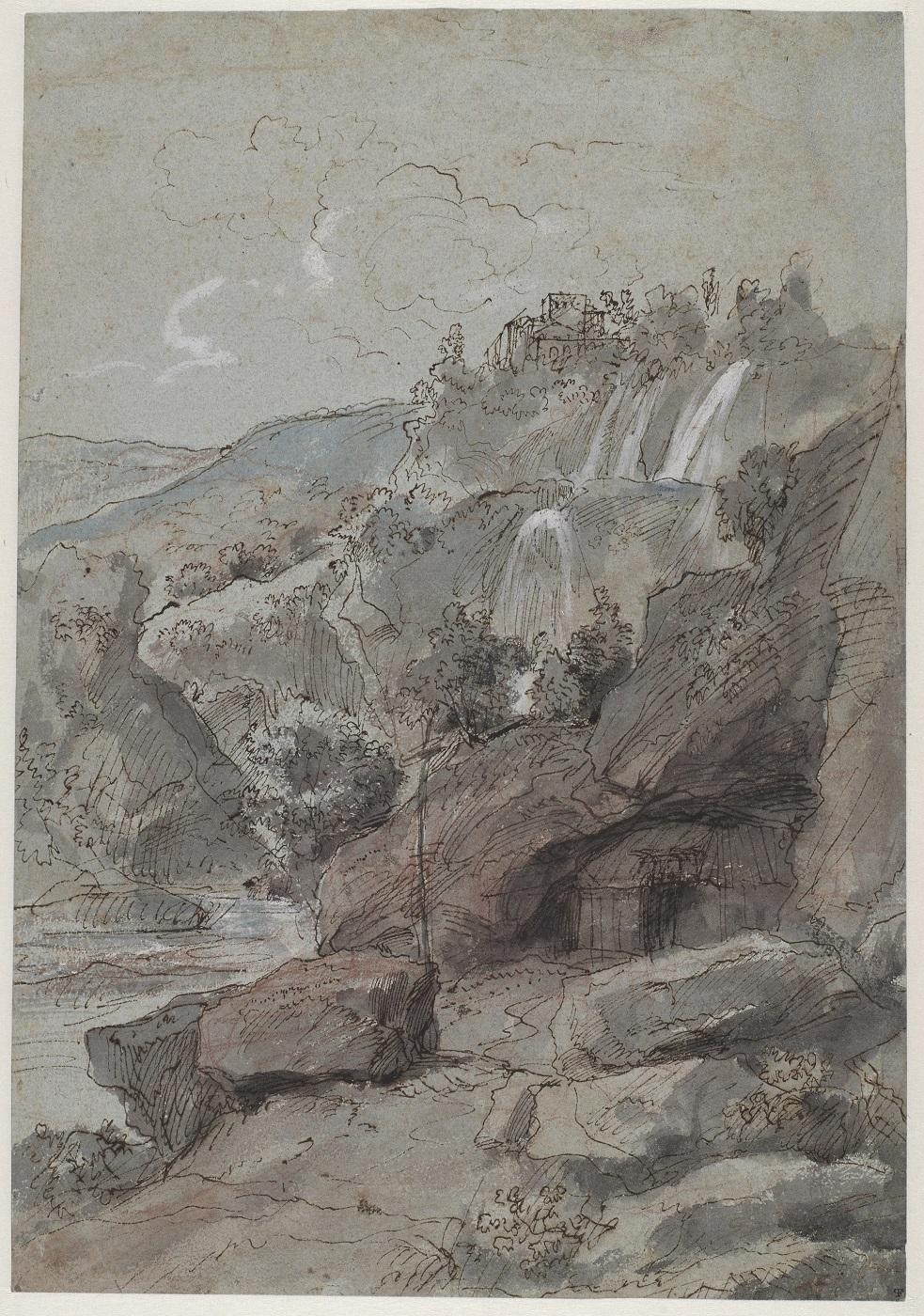 Gaspar van Wittel, Landschap met de Watervallen van Tivoli, foto © Rijksmuseum Amsterdam