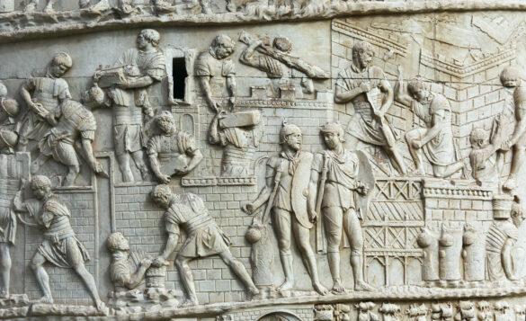 Zuil van Trajanus in Rome