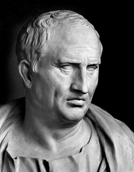 Portret van Cicero