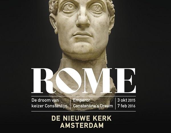 Rome, de droom van keizer Constantijn. Nieuwe Kerk Amsterdam