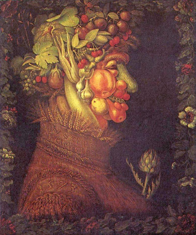 """Kunst en koken: """"Giuseppe Arcimboldo, Zomer"""""""