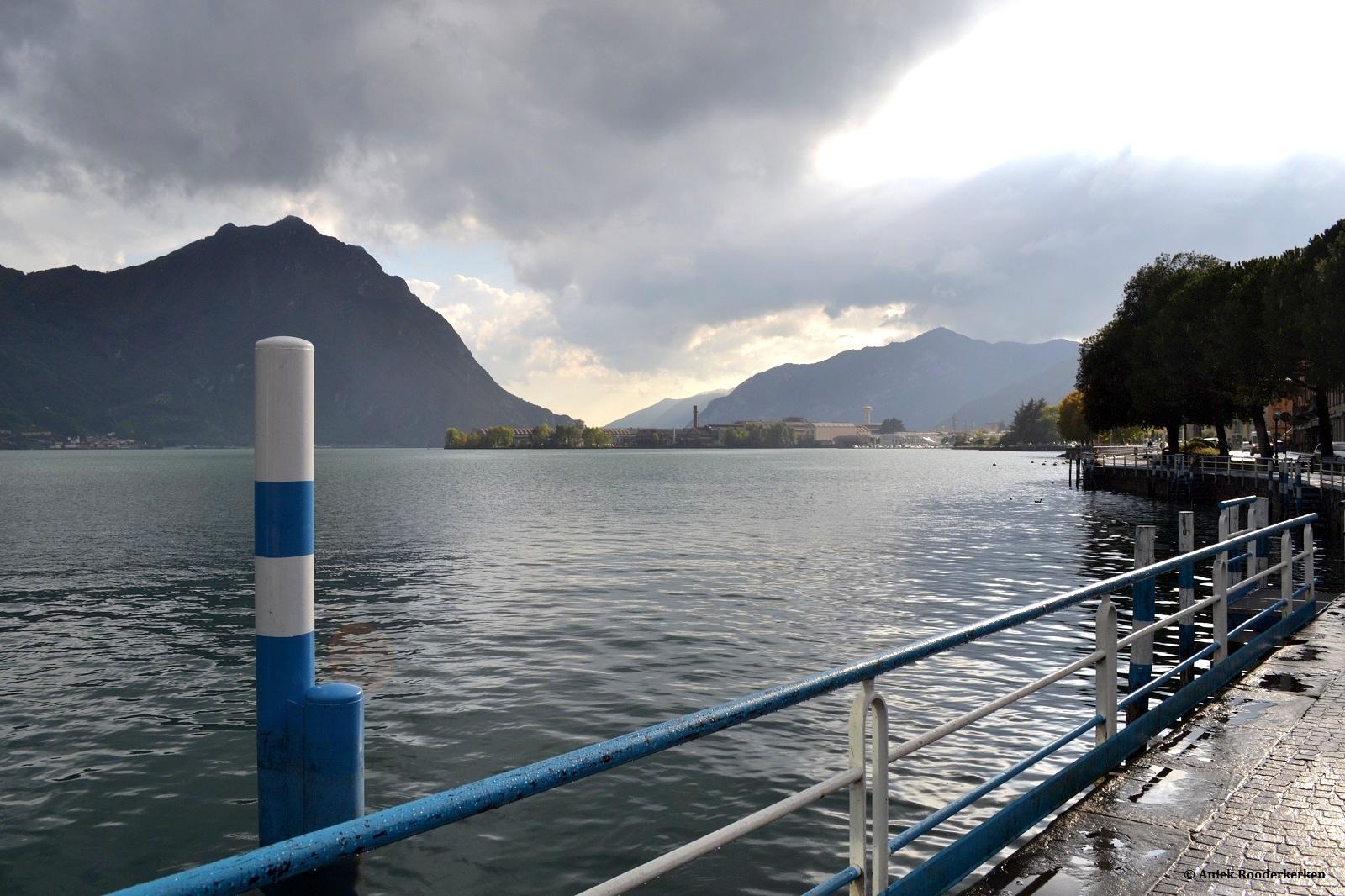 Lovere aan het Lago d'Iseo