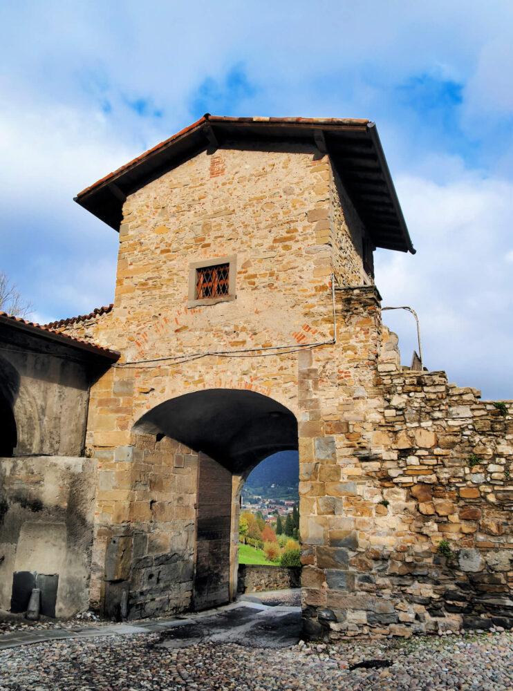 Poort in Bergamo