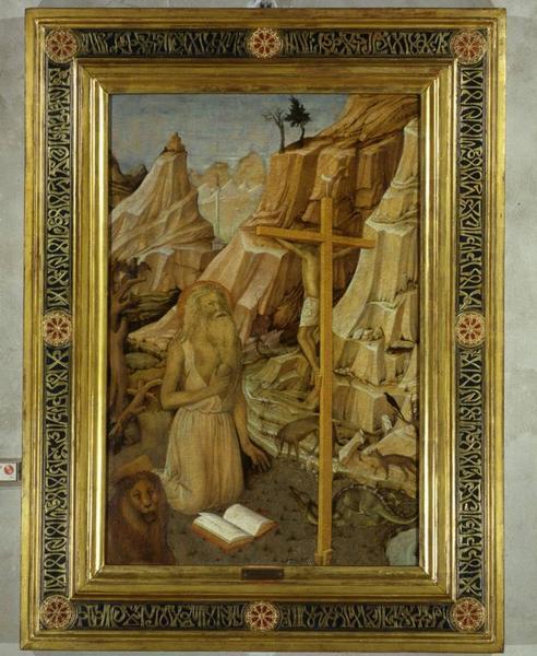 Jacopo Bellini, San Girolamo penitente
