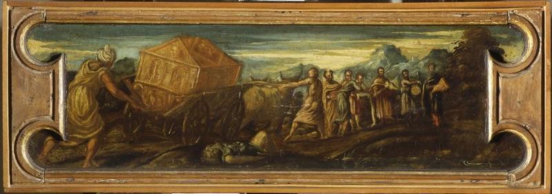 Jacopo Tintoretto, Trasporto dell'arca dell'alleanza