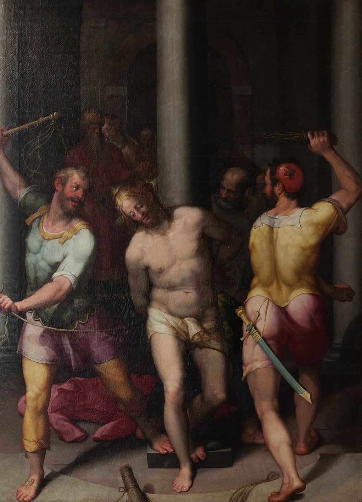 Pinacoteca Nazionale Bologna, Denijs Calvaert (1540-1619), De geseling van Christus