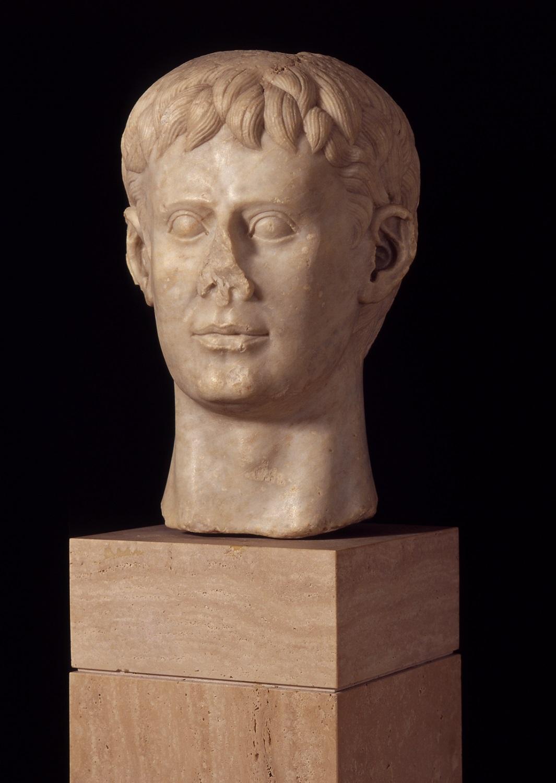 Marmeren buste van Frederik II, Italië, AD 1220-1250. Deutsches Archäologisches Institut, Rome