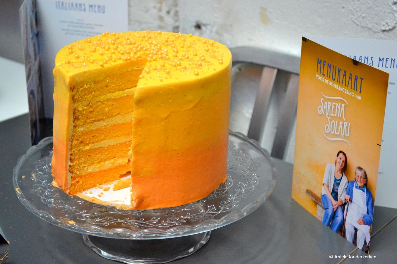 De citrus ombre-cake uit Het Italiaanse bakboek van Sarena Solari