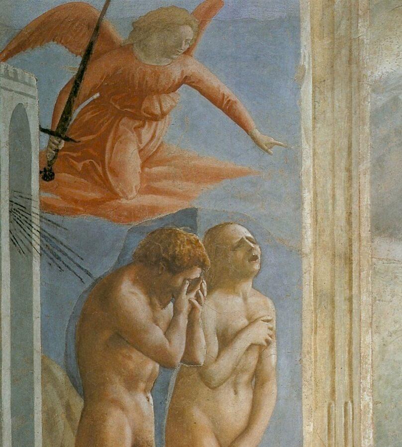 Verdrijving uit de Hof van- Eden, Masaccio