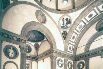 De Pazzi-kapel in Florence