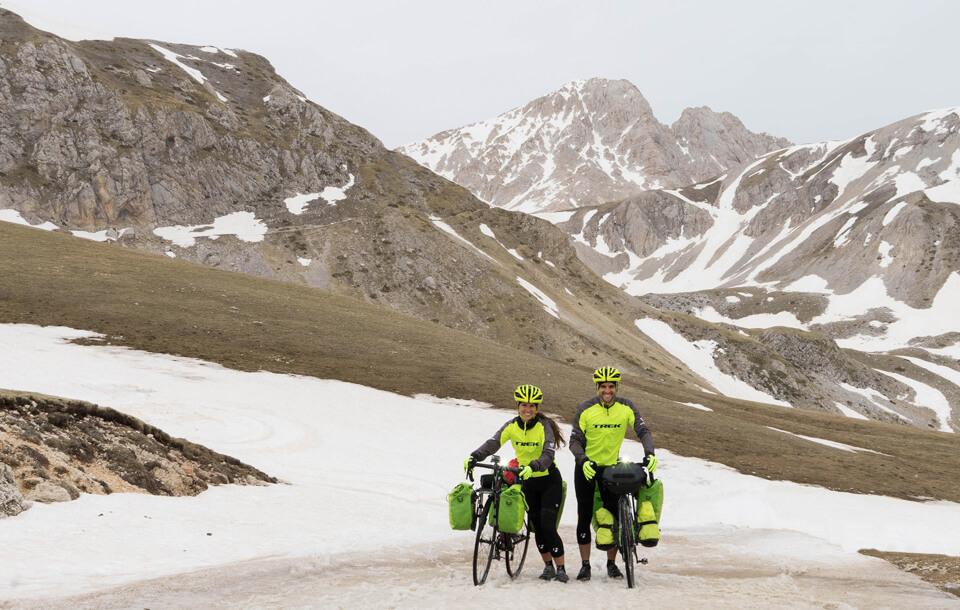 Prendimingiro, de fietsreis door Italië van Stefano en Tineke