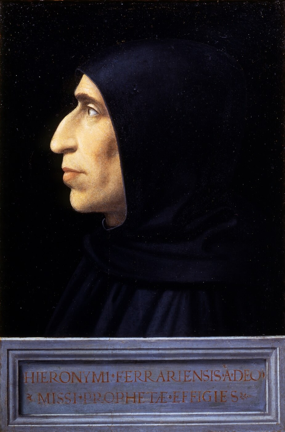 Girolamo Savonarola, Fra Bartolomeo, c. 1498, Museo di San Marco, Florence