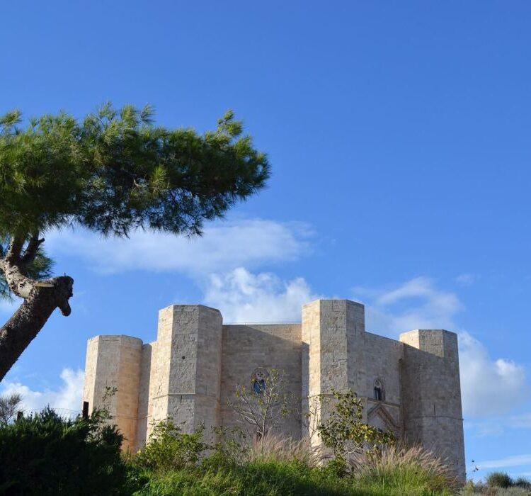 Castel del Monte in Puglia Zuid-Italië