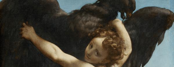 Correggio, Ganymedes, Olieverf op doek, Kunsthistorisches Museum, Wenen