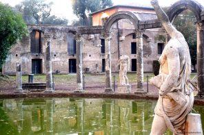 Canopus met Triclinium van de Villa Hadriana in Tivoli