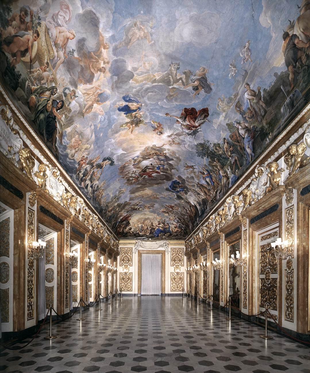 Luca Giordano, Galleria Riccardiana, 1683-85, Fresco, Palazzo Medici Riccardi, Florence