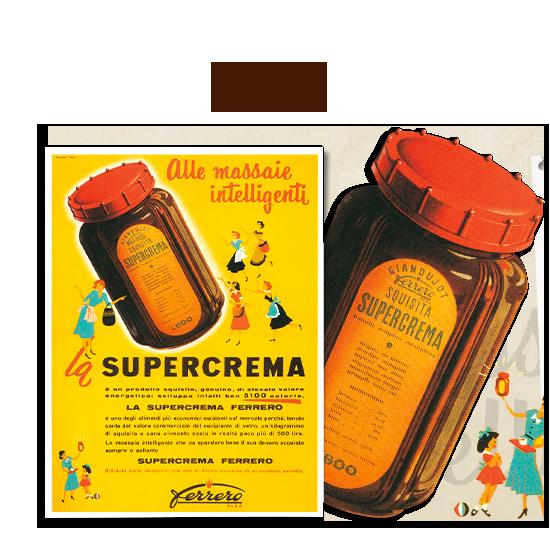 Nutella 1951, afbeelding van www.nutella.com