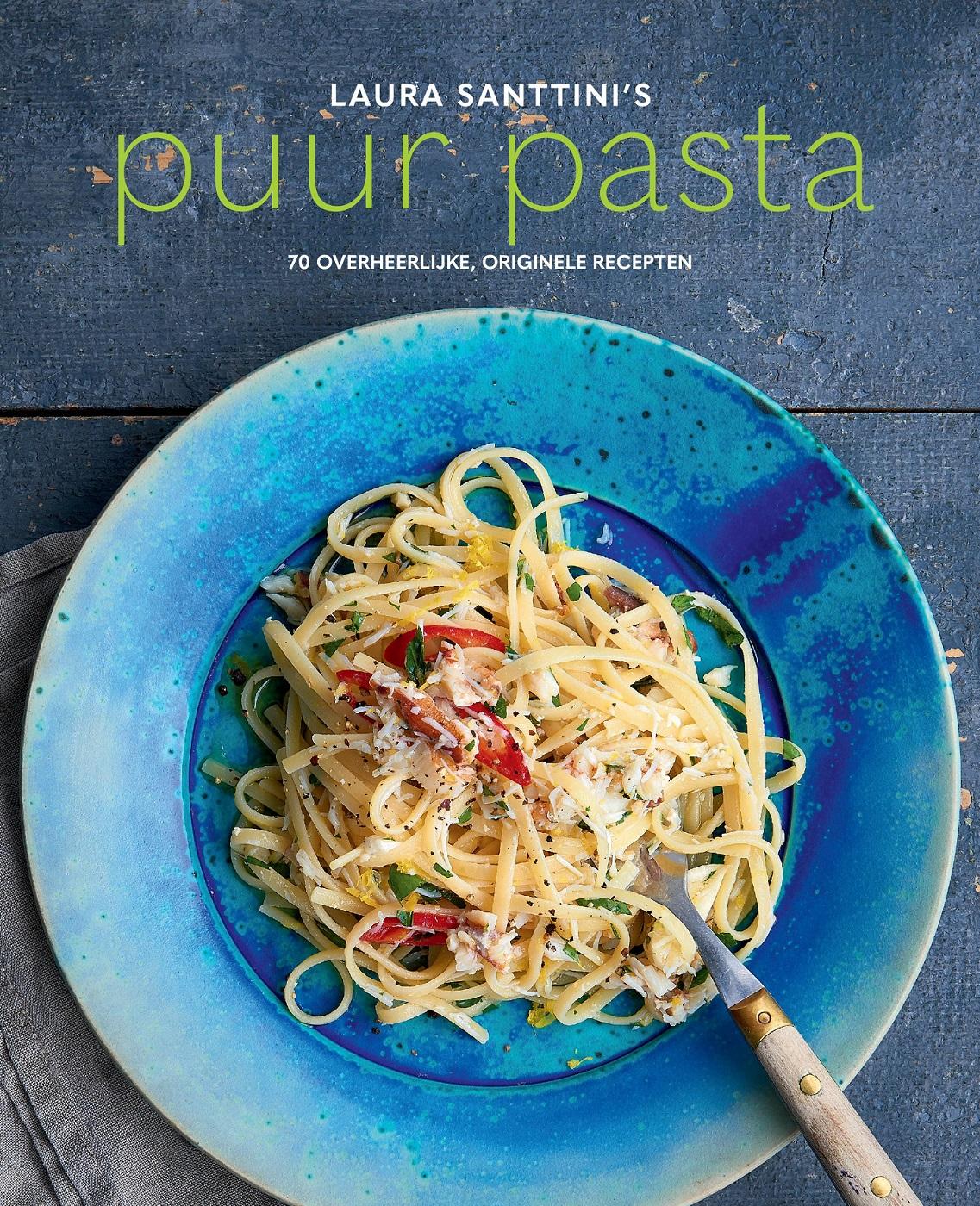 Puur pasta van Laura Santtini - Italiaans kookboek met authentieke recepten
