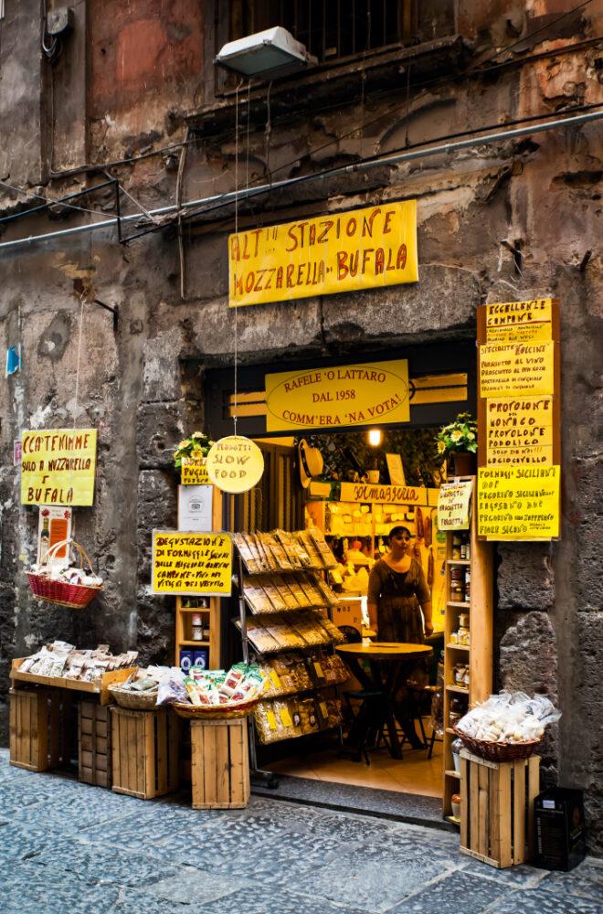 Italiaans winkeltje