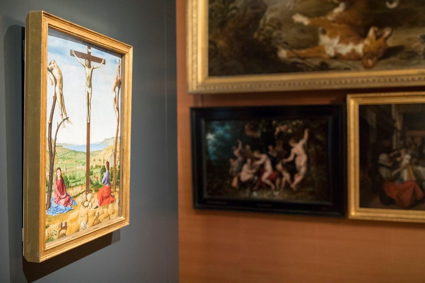 Antonello in de Galerij. © Galerij Prins Willem V Fotograaf Ivo Hoekstra