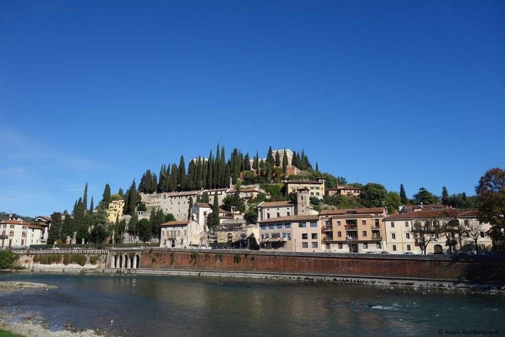 Panorama over Verona en de Adige