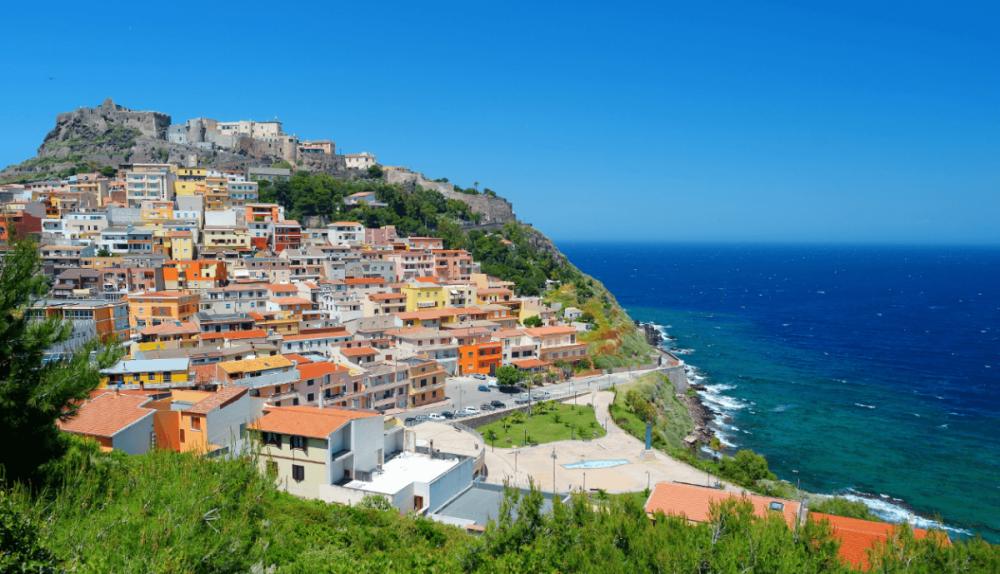 Castelsardo, Sardinië
