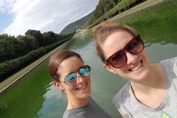 Italiaanse vertalers Mara Schepers en Miriam Bunnik