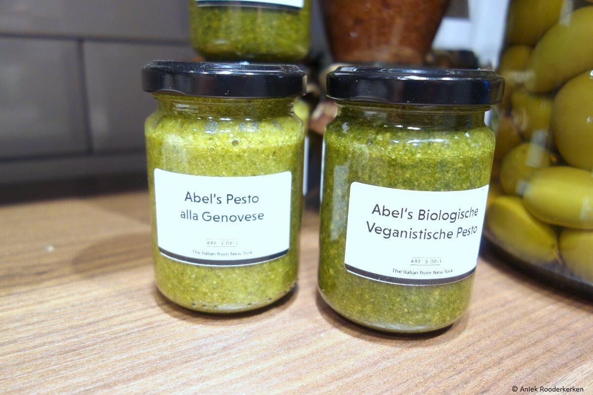 Abel's biologische en veganistische Pesto