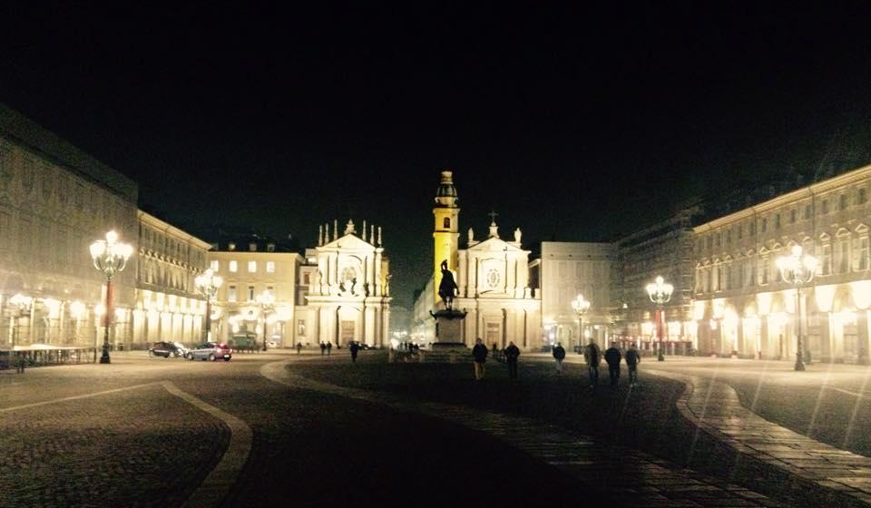 Het prachtige Piazza San Carlo in Turijn