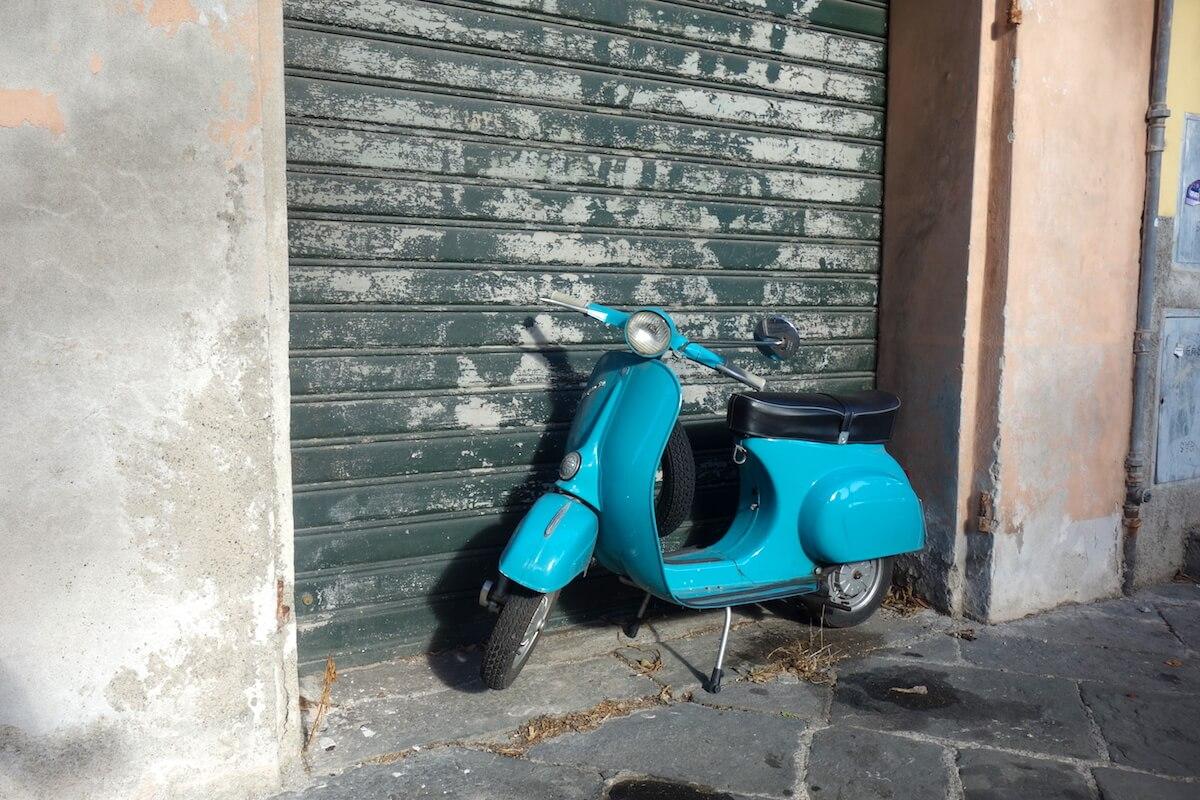 Vespa-tour door Italië