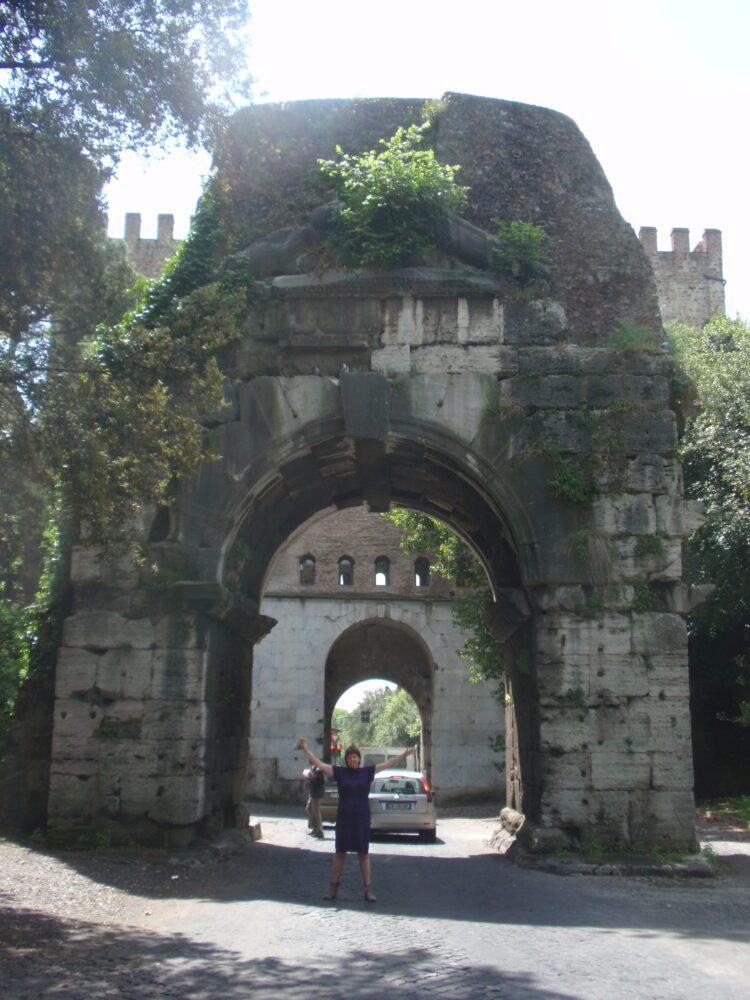 Boog van Drusus, Rome