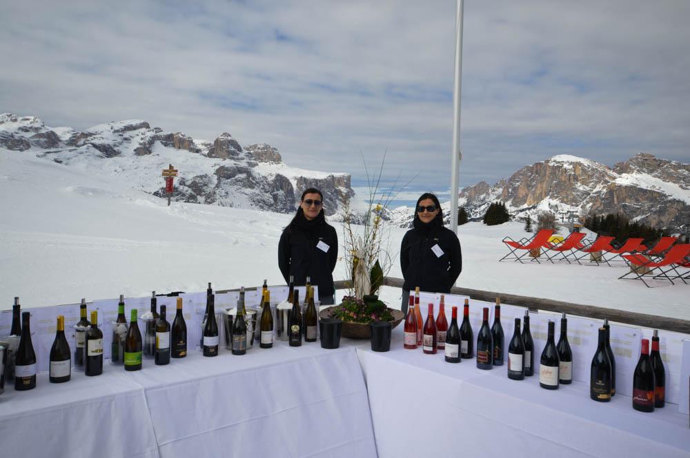 Wine skisafari Zuid-Tirol. Kastanjeroute in Zuid-Tirol. Foto door Henriëtte Bokslag