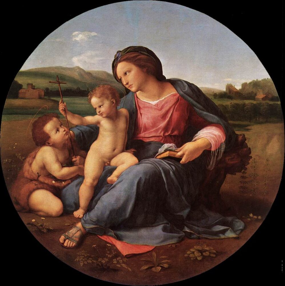Rafaël / Raffaello Sanzio, De Alba Madonna, 1511, National Gallery of Art, Washington