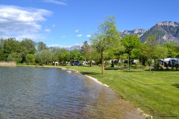 Kamperen aan het Lago di Levico