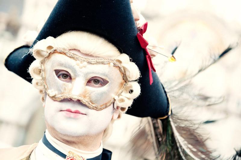 Carnaval in Venetië. Foto door justliketotravel.nl