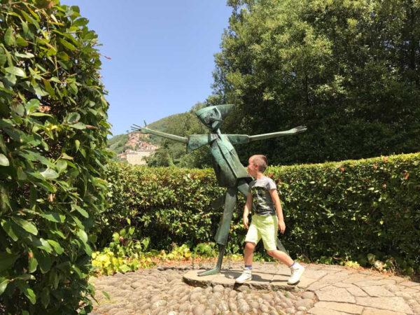 Parco di Pinocchio. Foto door KidsErOpUit.