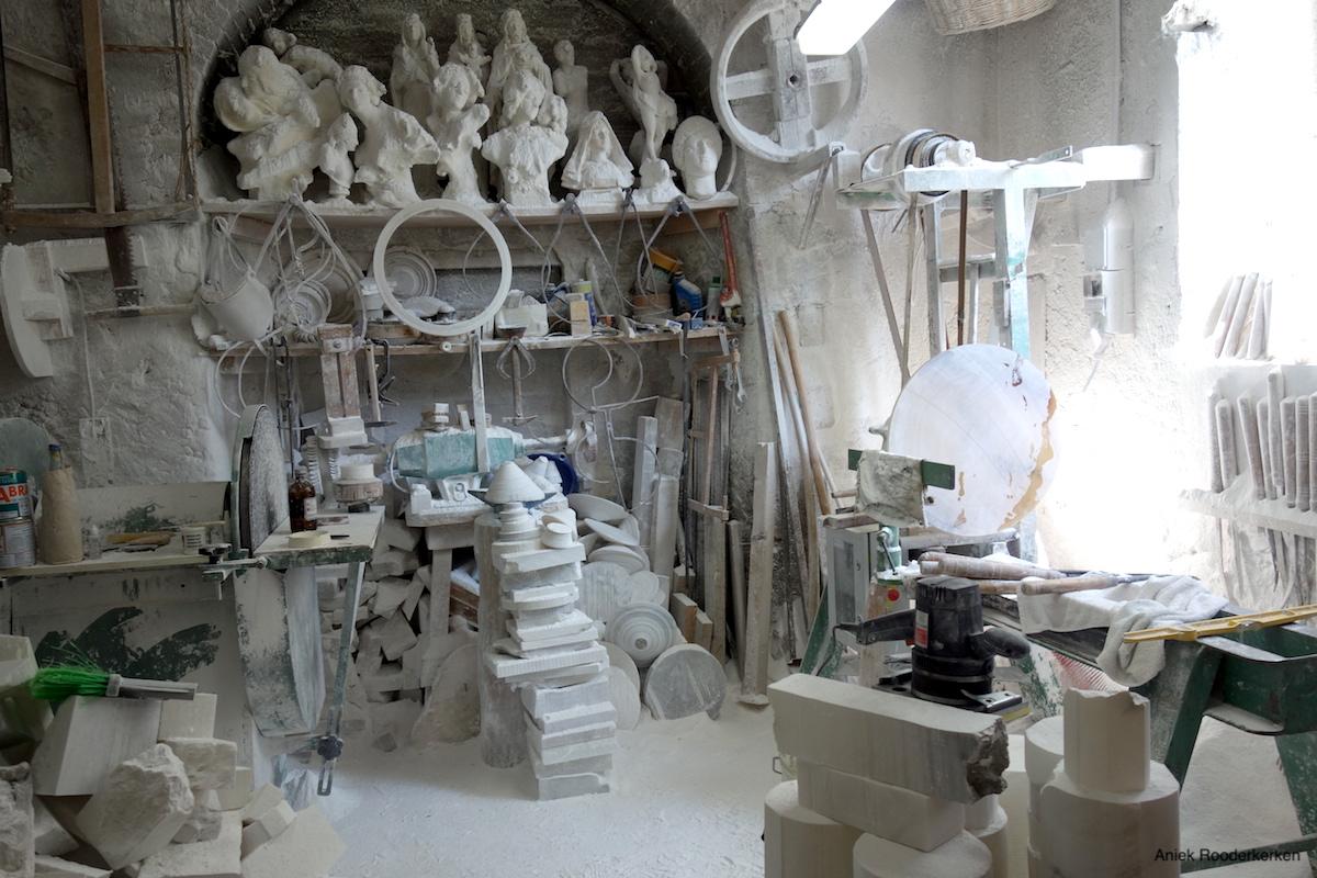 Werkplaats alab'Arte van Roberto Chiti en Giorgio Finazzo
