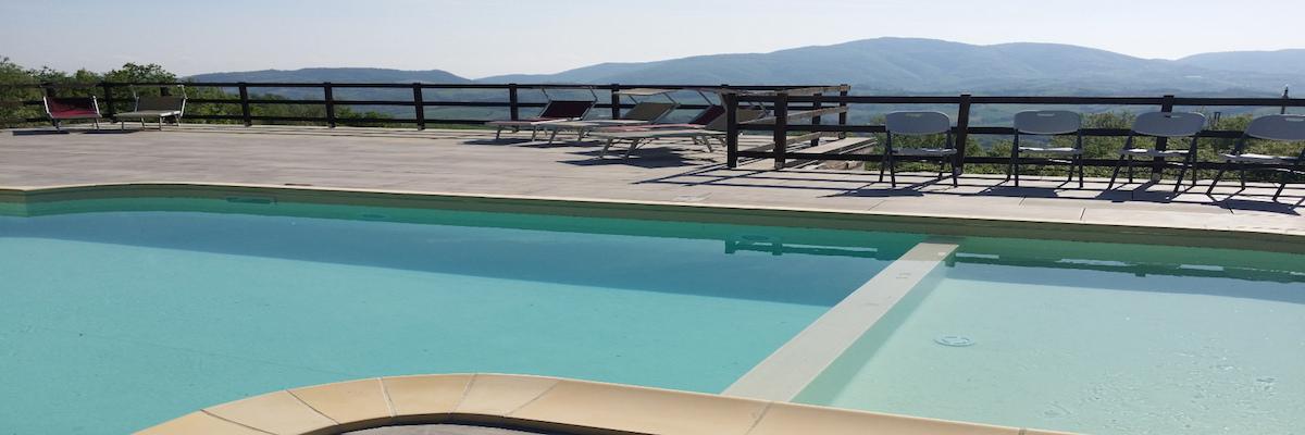 Casa Tartufo zwembad