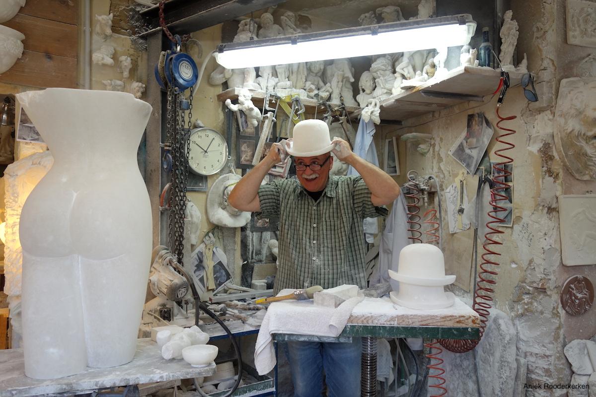 Giorgio Finazzo van alab'Arte Volterra