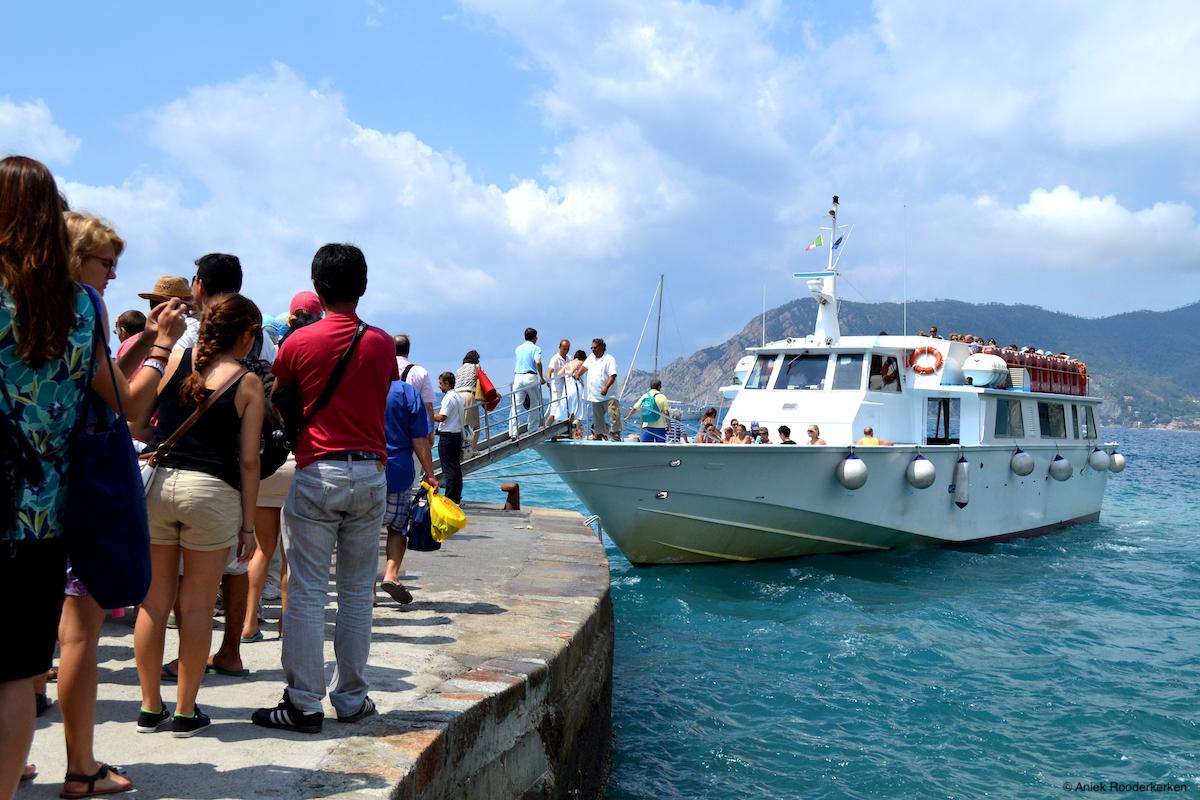 Met de boot naar de Cinque Terre