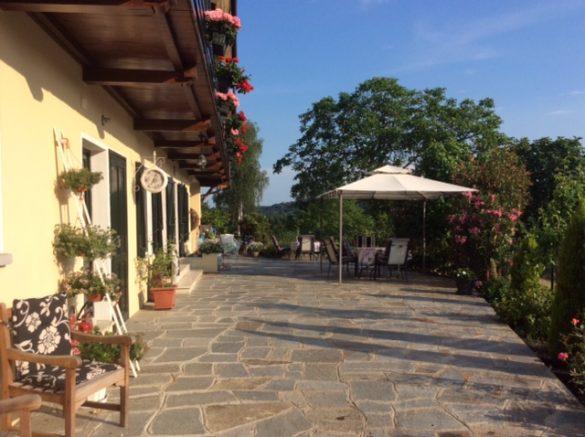 Het terras van Casa Joop