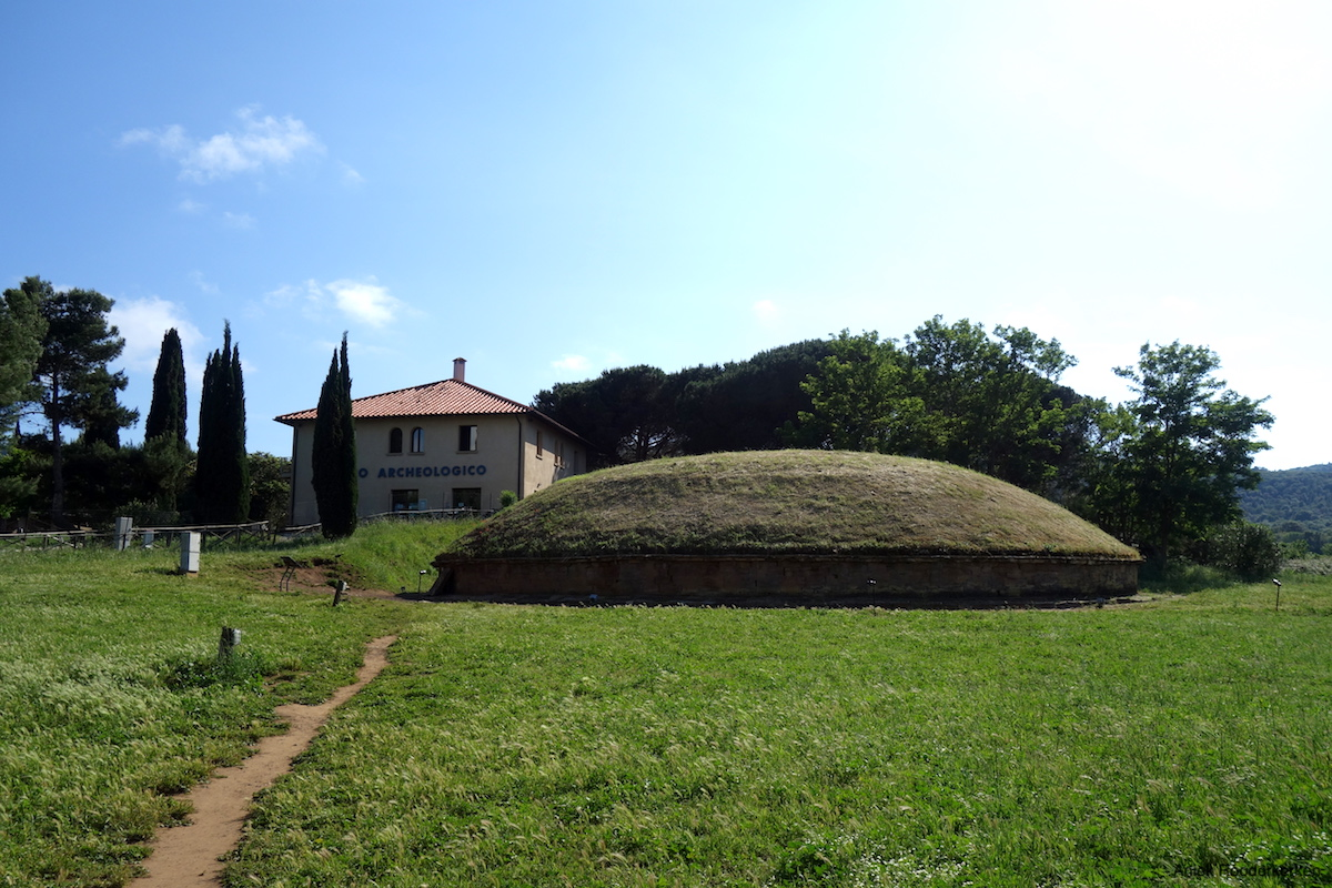Museum en necropolis van San Cerbone in Populonia
