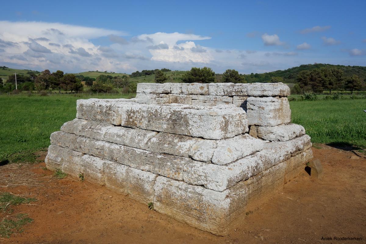 Etruskische necropolis van San Cerbone in Populonia
