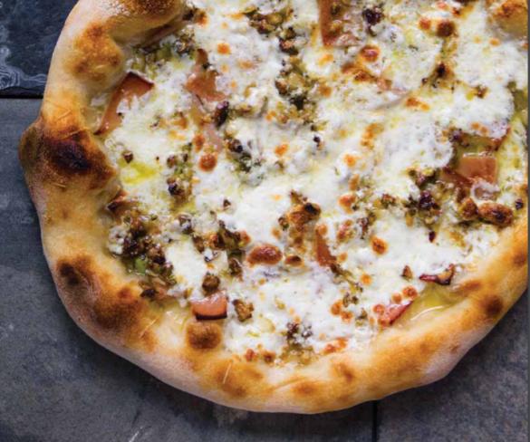 Een nieuw boek over de kunst van het pizza bakken