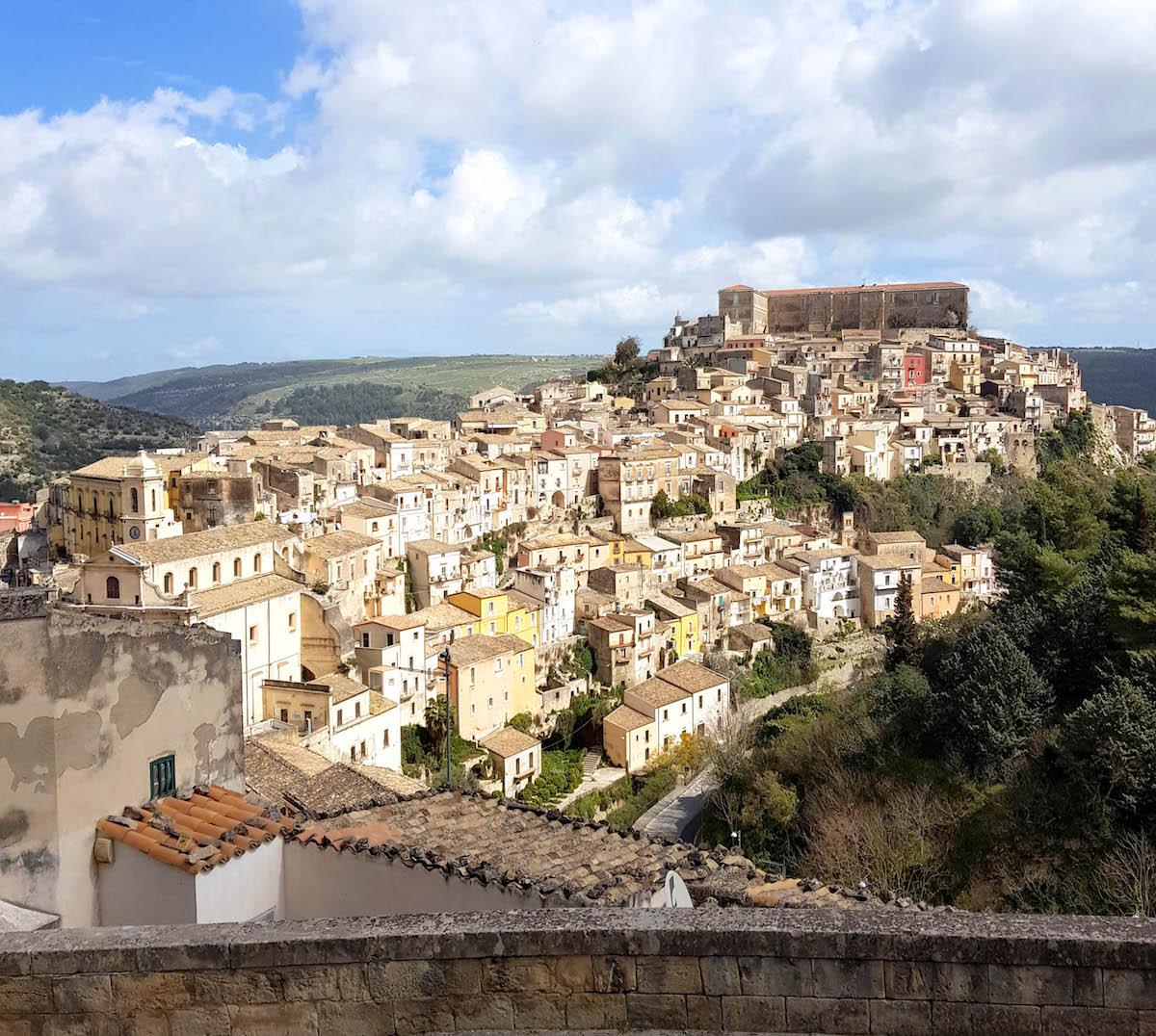 Ragusa op Sicilië, foto door Chantal van Alleen op reis